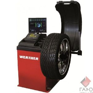 Стенд для балансировки колес 3D автомат 10-24 дюймов WERTHER OLIMP 9500