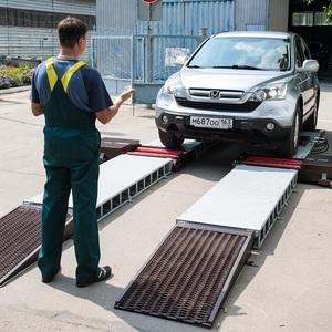 Мобильная блочная станция технического контроля автомобилей ЛТК-МБ 3500М