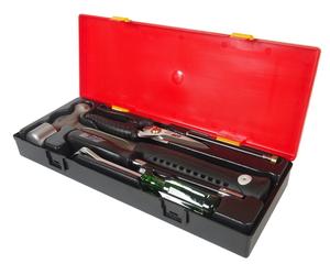 Набор инструментов 5 предметов слесарно-монтажный (молоток,ножницы,отвертка) в кейсе JTC-K805