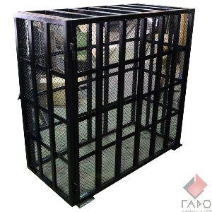 Клетка для безопасной накачки колес грузовых автомобилей Polarus KL-30