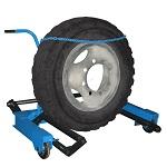 Тележки для снятия и транспортировки колес грузовых автомобилей